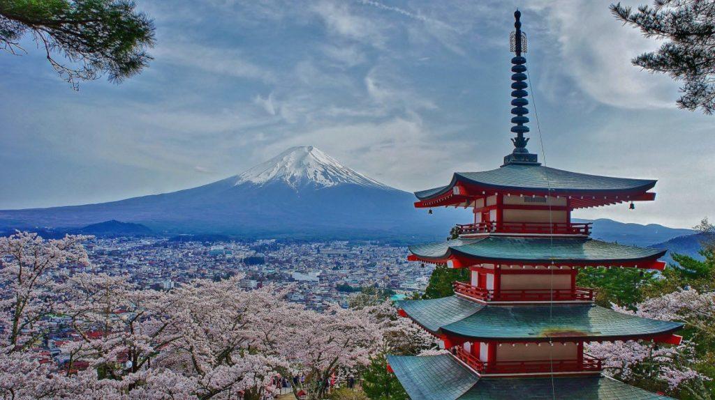 Chureito Pagoda - un lugar iconico de japon
