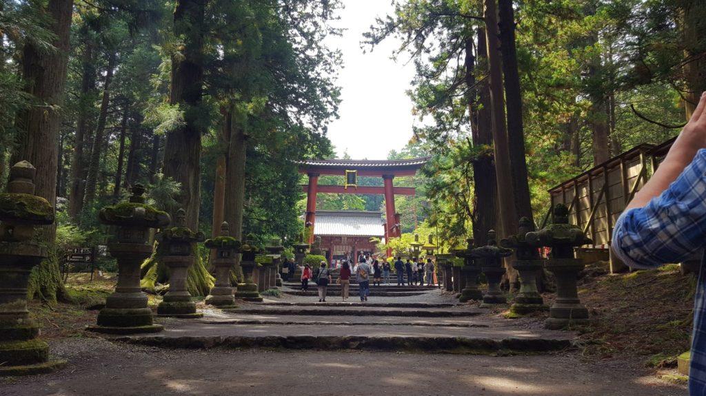 Santuario Fuji Sengen - santuario de la salida norte del monte fuji