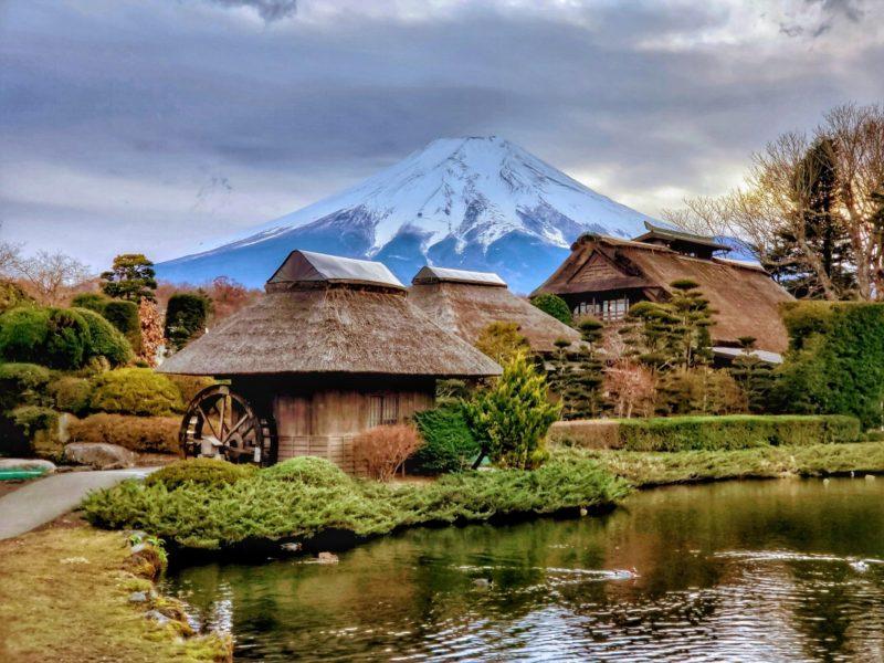 aldea oshino - aldea tradicional japonesa